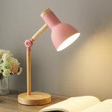 Creative Nordic Wooden Art Iron LED Folding Simple Desk Lamp (WH-MTB-51)