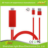 Wholesale Mhl to HDMI to USB Cable Adapter for Phone