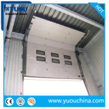 Industrial Automatic Motorized PU Sandwich Panel Thermal Insulated Vertical Sliding Warehouse Lifting Overhead Sectional Garage Door