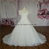 off Shoulder A Line Princess Dress Wedding Dress