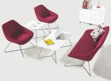 Leaf X Metal Legs Melamine Tabletop Coffee Office Furniture Table