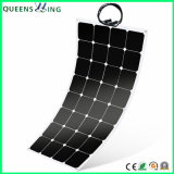 High Efficiency 120 Watt Silicon Semi Flexible Mono Solar Panel