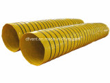 PVC Thermal Spiral Insulated Duct for HVAC