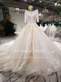 Aolanes Plain Lace Mermaid Strapless Wedding Dress 110843