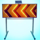 Factory Supplied Aluminum Solar Traffic / Road Sign for Construction