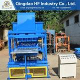 Tanzania Interlocking Brick Machine Price Hf4-10 Automatic Hollow Molding Forming Machine Soil Cement Brick Machine