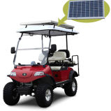 Solar Energy C Golf Equipment 4seat Hunting Cart with Solar Panel