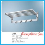 Luxury Style Bathroom Accessories Towel Rack (J19E)
