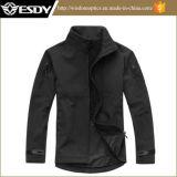 Men's Outdoor Hunting Camping Coats Waterproof Tactical Softshell Jackets Black