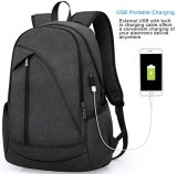 Water Resistant Laptop Backpack with USB Charging Port Fits up to 15.6inch Laptop and Notebook (WDB0033)