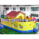 Inflatable Jumping House/Inflatable Bouncer Castle, Cheap Inflatable Funland City, Bouncy Playground for Children