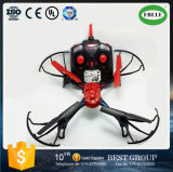 High Speed Rotation RC Quadrocopter with HD Camera (FBELE) Drones