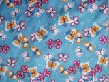Oxford 420d Ripstop Butterfly Printing Polyester Fabric (K19)
