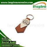 Leather Keyring; PU Keyring; Promotion Keychain; Gift Keychain