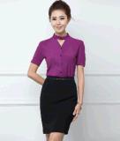 Top-Quality Ladies Summer 2PCS Office Business Uniform Suit