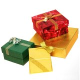 Paper Box Gift Box with Ribbon with Competitive Price