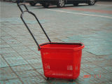 Retail Basket, Supermarket Equipment, Shopping Basket, Plastic Basket (JT-G24)