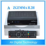 Terrestrial and Satellite Receiver Zgemma H. 2h DVB-S2 DVB-T2/C Suporting IPTV HD PVR SD Card