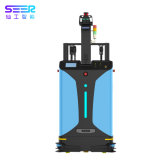 China Manufacturer 2ton 2000kg 4400lbs Electric Articulated Counterbalance Forklift Truck for Sale