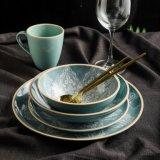 Chinaware Blue Tableware Ceramic Dinner Set Plate Porcelain Dinnerware