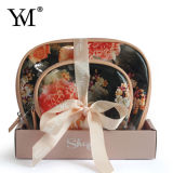 Quality Cosmetic Bag Set with Display Box for Retails.