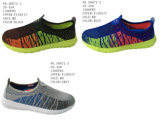 No. 50672 Three Colors Flyknit Men′s Sport Stock Shoes