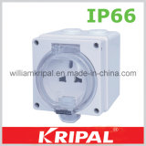 Waterproof Wall Mounted Socket Outlet