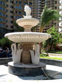 Simple Style Garden Marble Water Fountain