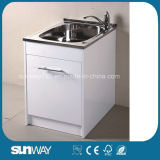 Hot Sale Sanitary Ware Stainless Steel Laundry Cabinet Sw-LC1205