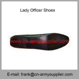 Wholesale Cheap China Military Leather Army Police Lady Officer Shoes