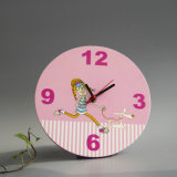 New RoHS Wooden Wall Clock in MDF