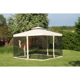 3m*3m Steel Outdoor Lead Gazebo (ETF06003)