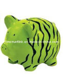 Resin Piggy Money Box, Pig Coin Bank