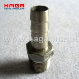 Threaded Pipe Fitting Hex Hose Nipple