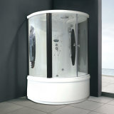 USA Acrylic Noble White Color Steam Shower Bathtub Room (M-8278)