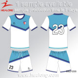 Healong Fashion Design Sportswear Customized Sublimation Football Jersey