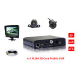 Best Price 3G WiFi 4CH SD Card Mobile DVR