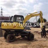 6 Tons Double Drive Wheel Hydraulic Tractor for Construction Jg-608s