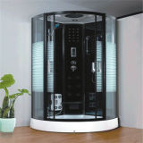 Bathroom Design Sliding Round Black Bath Shower Cabin for Sale