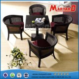 Garden Rattan Furniture Dining Table and Chairs for Outdoor
