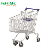 Metal Zinc Plated Shopping Trolley Cart for Supermarket