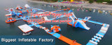 Giant Inflatable Commercial Aqua Park Floating Water Park Island for Sale