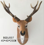 Wholesale for Sale High Quality Resin Animal Deer Head Sculpture Wall Art