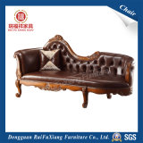 Leather Chaise Lounge Chair (O213)