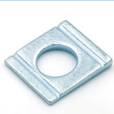 DIN434 DIN435 Carbon Steel Zinc Square Taper Washer for Channel Sections