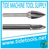 Carbide Burrs with Three Pointed End