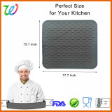 Amazon Hotsales Rubber Silicone Dish Drying Table Mat