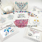 3D Body Face Jewels Crystal Temporary Eyes Tattoo Festival Party Body Glitter Stickers (S069)