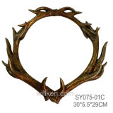 Resin Artificial Deer Antlers Wall Art Artificial Antlers