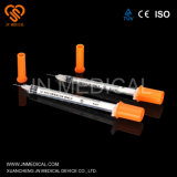 Medical Supply of Disposable Insulin Syringe with Matched Needles